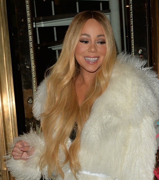 Mariah Carey seen leaving Mr Chow Restaurant in London, England.| Photo: Getty Images.