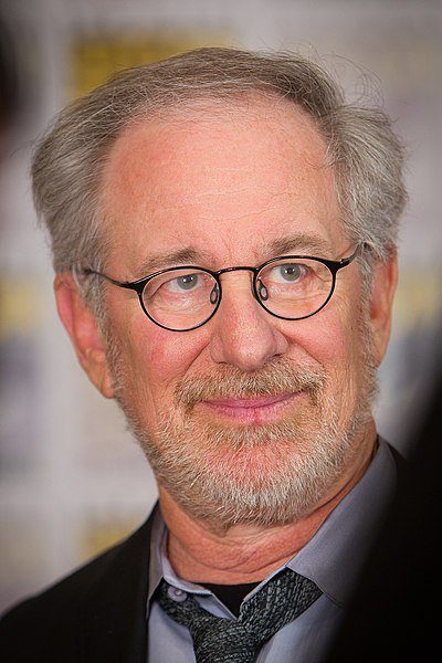 Steven Spielberg at the 2011 San Diego Comic-Con International.   Source: Wikimedia Commons