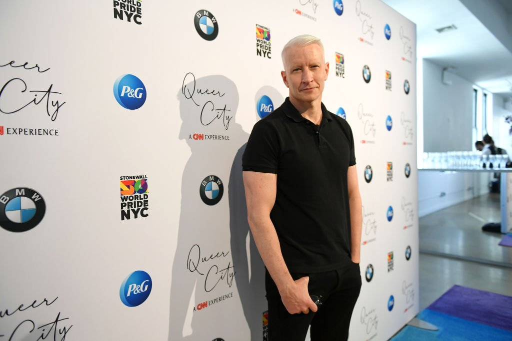 Anderson Cooper attends QUEER CITY: A CNN Experience. | Source: Getty Images