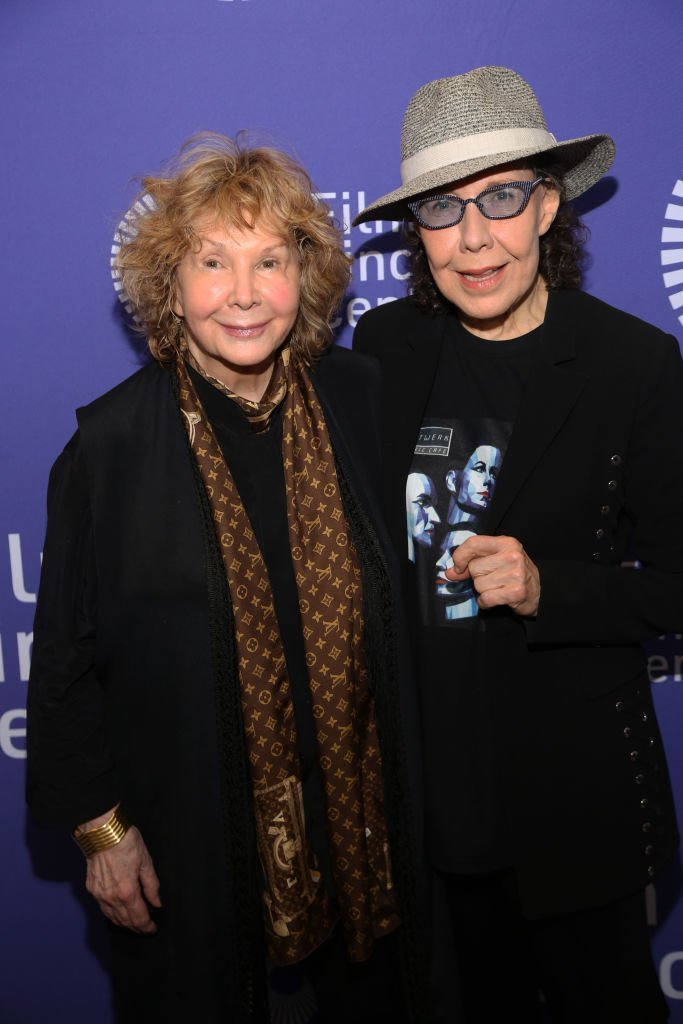 Jane Wagner and Lily Tomlin attend Two Free Women: Lily Tomlin & Jane Wagner. | Source: Getty Images