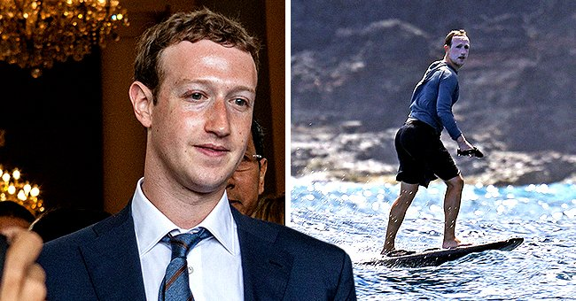 Check Out Comments Written after Mark Zuckerberg Was Pictured Wearing Loads of Sunscreen While Surfing