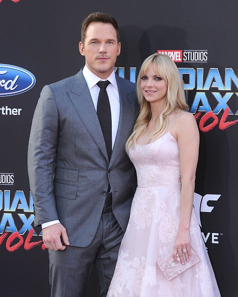 Chris Pratt and Anna Faris at Dolby Theatre on April 19, 2017 in Hollywood, California. | Photo: Getty Images
