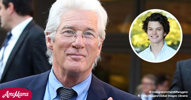 Richard Gere Has a Grown-Up Son Who Has All the Beauty of His Father's Youth