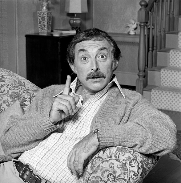 "Bill Macy portrays Walter Findlay on the CBS television series, ""Maude,"" circa 1972. 