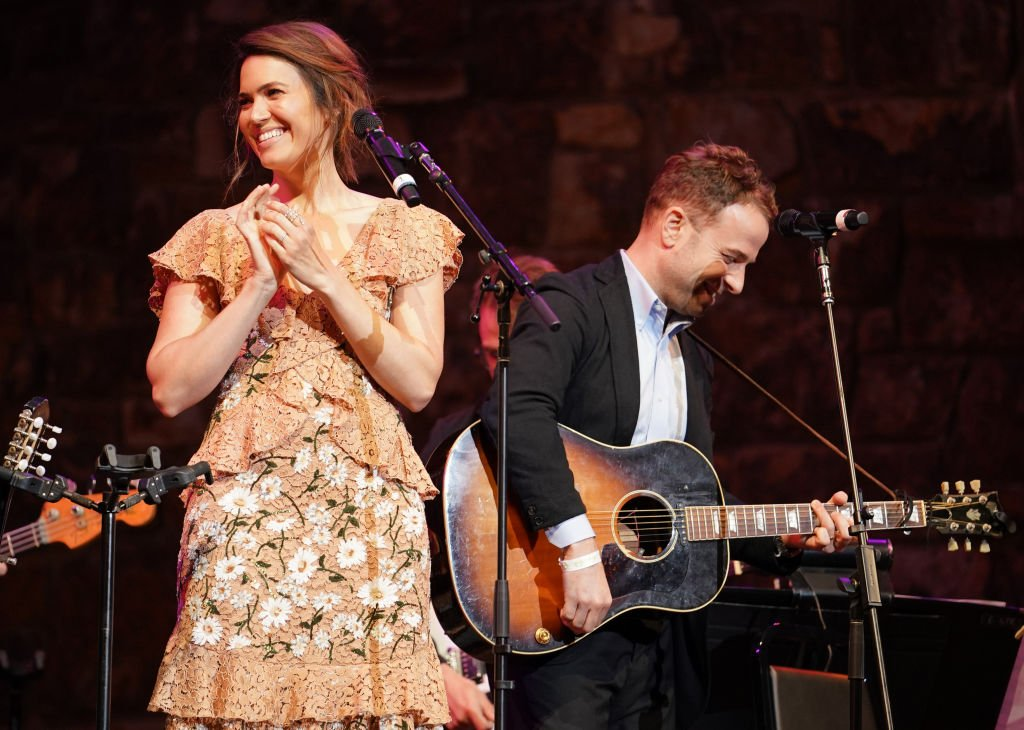 """Mandy Moore and Taylor Goldsmith perform at the """"This Is Us"""" FYC Event in Hollywood, California on June 6, 2019 