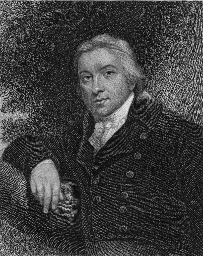 British physician Edward Jenner (1749 - 1823) who discovered the vaccine against smallpox   Source: Getty Images