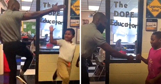 Tennessee Teacher David Jamison Goes Viral after He Memorizes 75 Different Handshakes with His 5th Graders (Video)