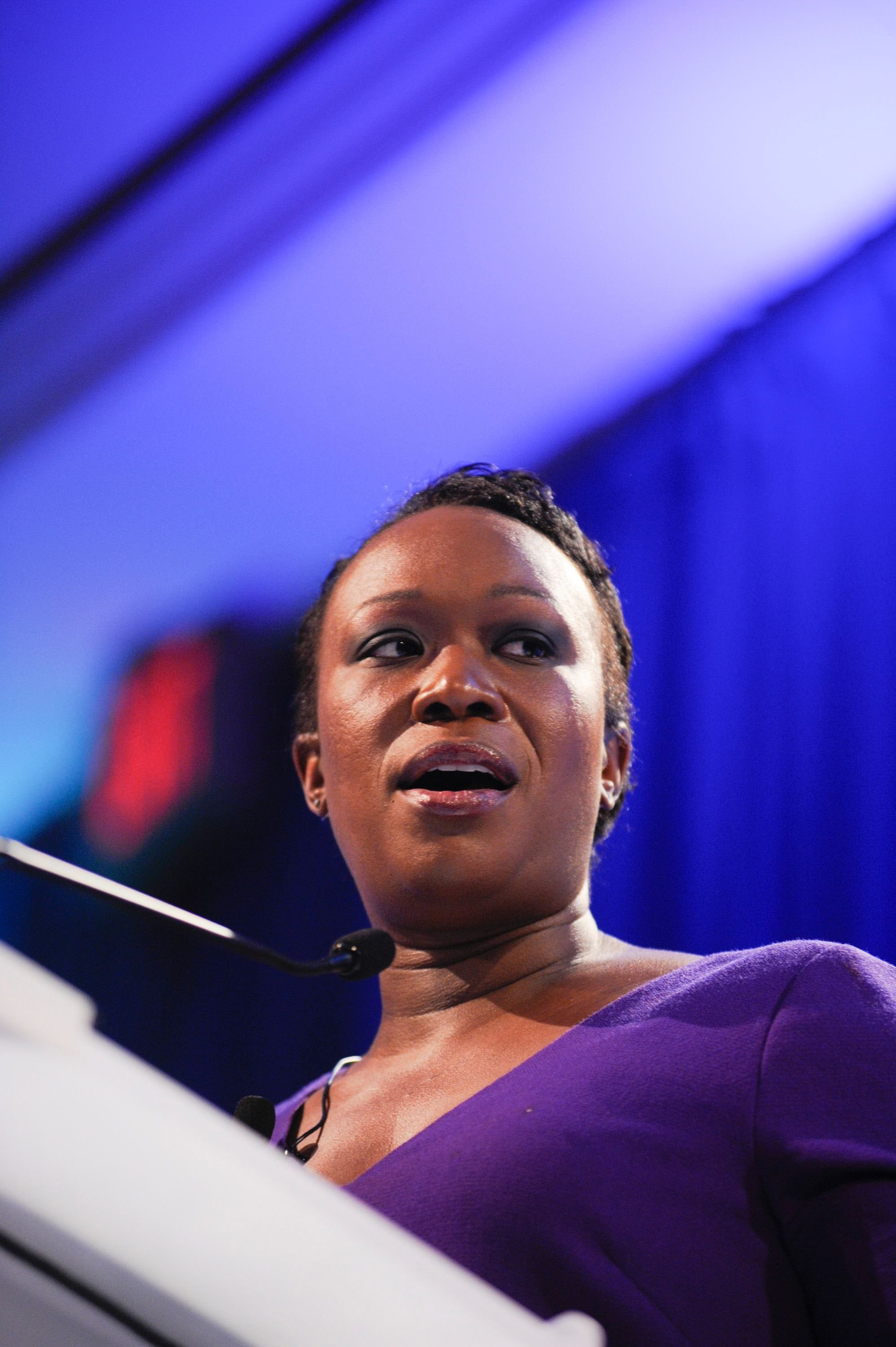 News correspondent Joy Reid at a speaking engagement in Washington DC in March 2013. | Photo: Getty Images