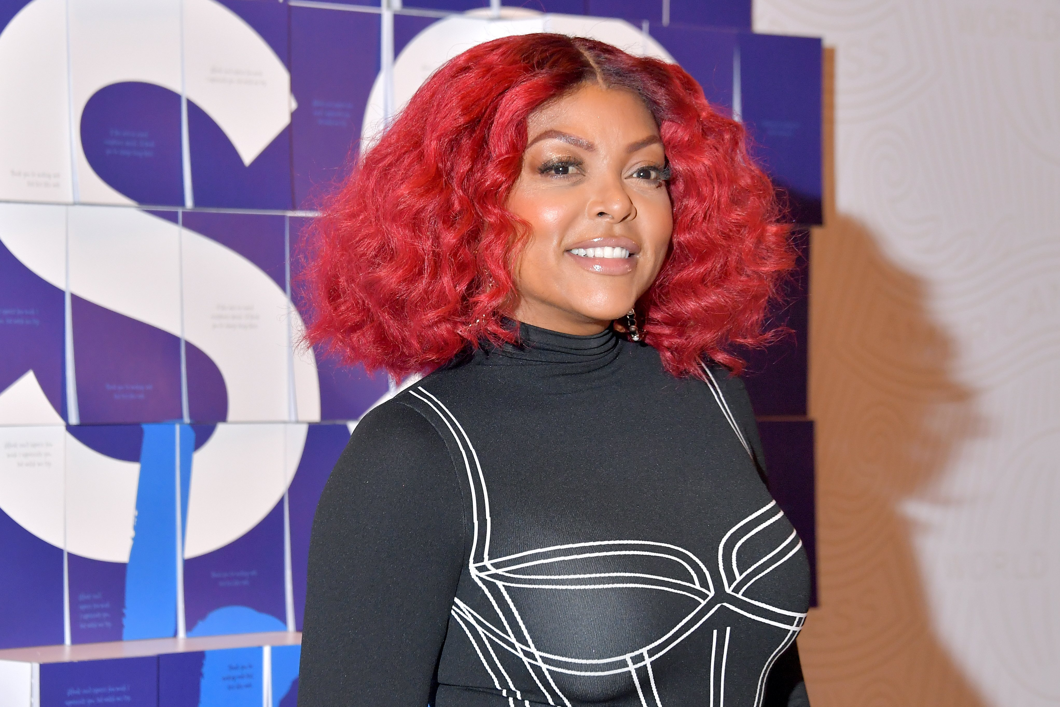 Taraji P. Henson at the #ExpressThanks Pop Up Cafe at Grand Central Station on March 06, 2020 in New York City.   Source: Getty Images