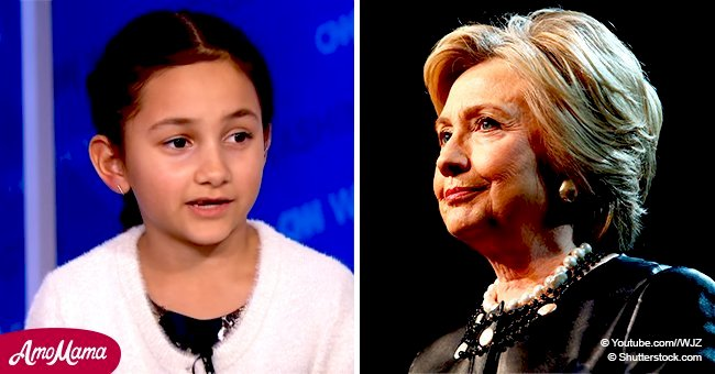 Hillary Clinton empowers a girl who ran for school president and lost to a boy by one vote