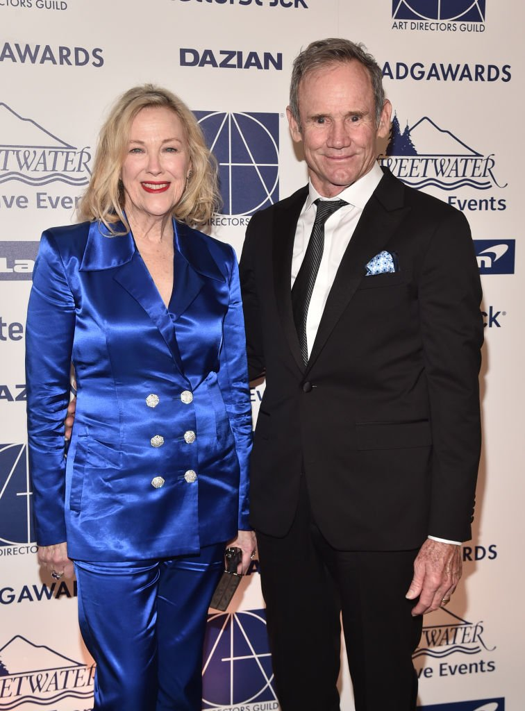Catherine O'Hara and Bo Welch at the 24th Annual Art Directors Guild Awards at InterContinental Los Angeles Downtown on February 01, 2020 | Photo: Getty Images