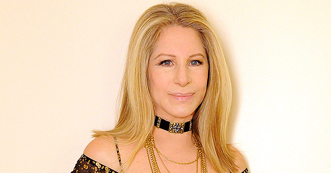 Barbra Streisand Thanked Stepson for Mother's Day Note with a Kiss (Photo)