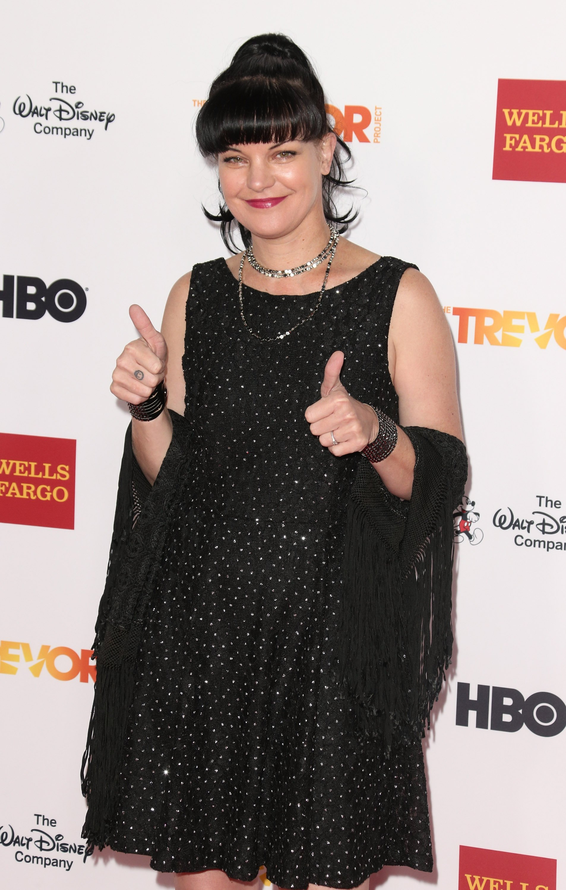 Pauley Perrette attends TrevorLIVE LA at Hollywood Palladium on December 6, 2015 | Photo: GettyImages