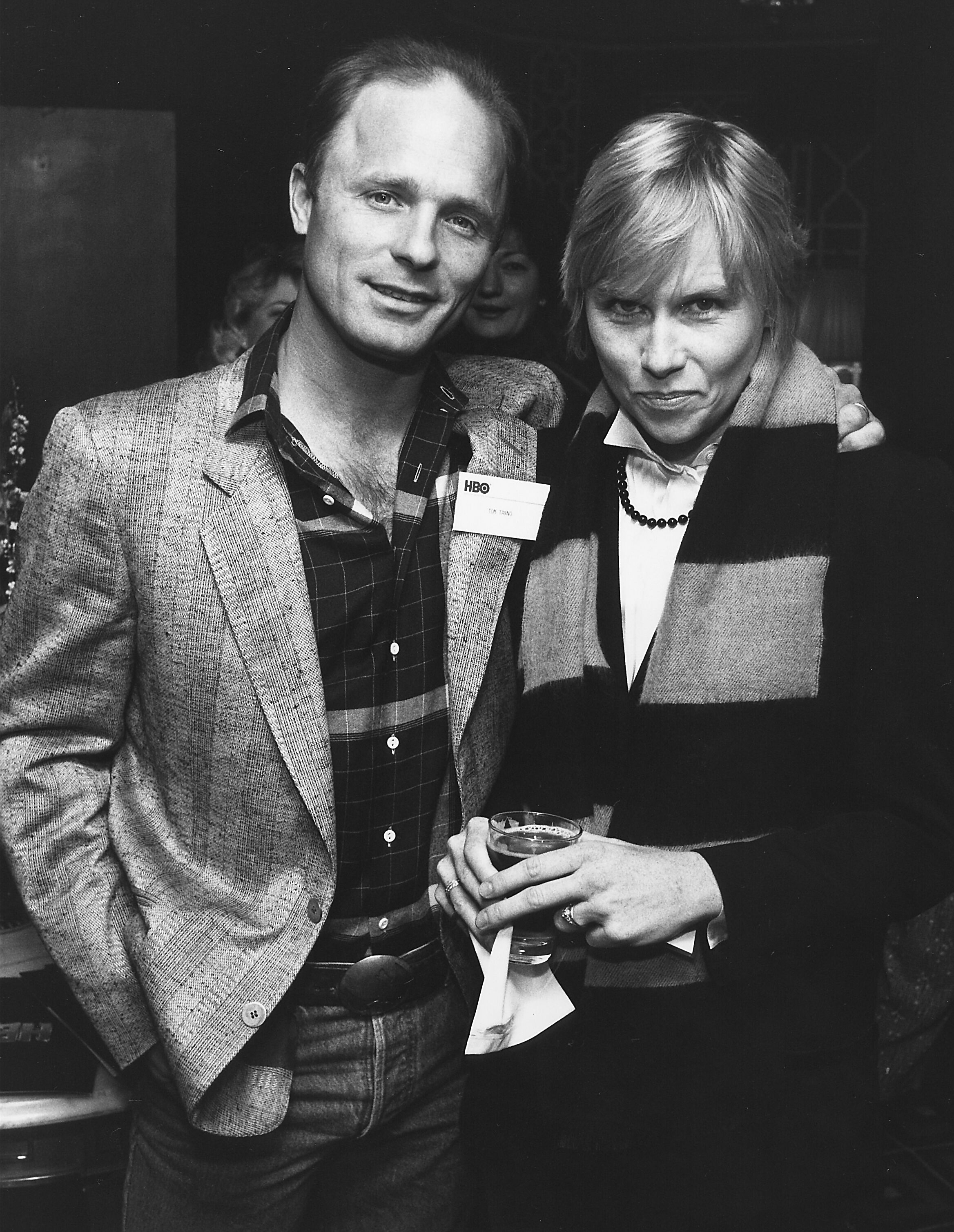 """Ed Harris and Amy Madigan attend HBO television film """"The Laundromat"""" party 