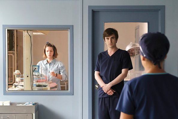 """Freddie Highmore in """"The Good Doctor"""" 