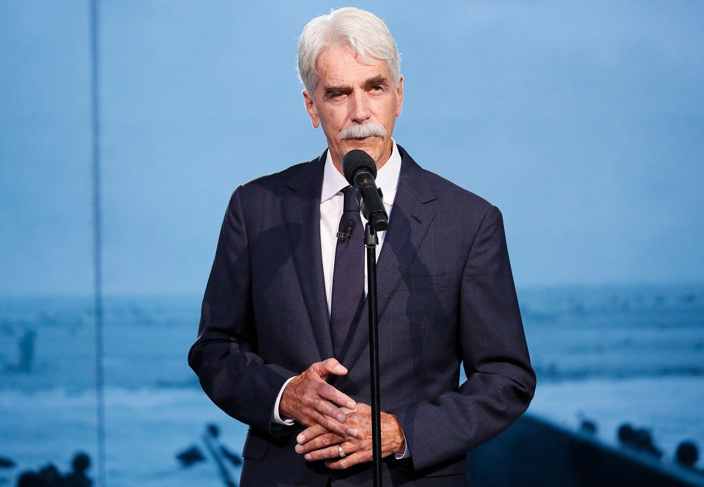 Academy Award-nominated actor Sam Elliott onstage at the 2019 National Memorial Day Concert at U.S. Capitol, West Lawn | Photo: Getty Images