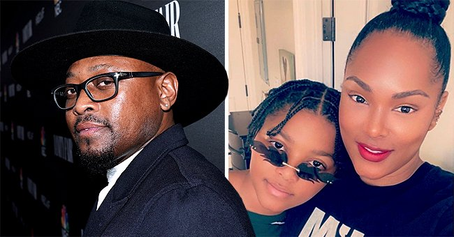 Omar Epps' Wife Keisha and Son Amir Show off Their Striking Resemblance in a Cool New Selfie