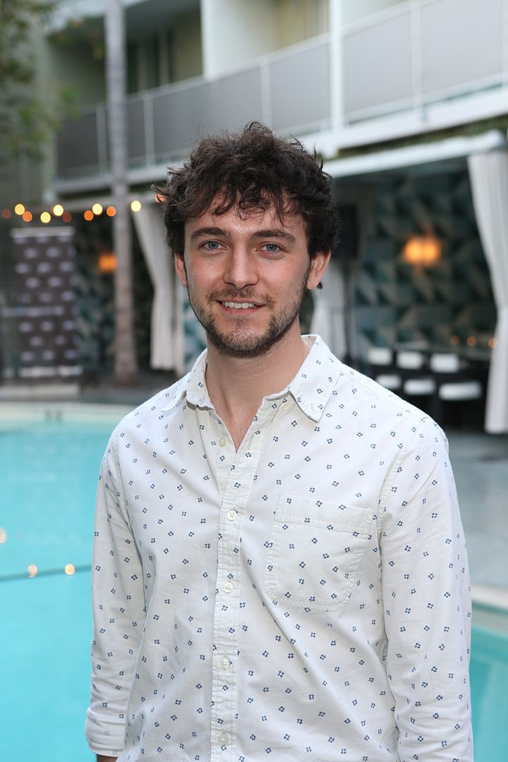 George Blagden at a reception on March 19, 2014 in Beverly Hills, the Canadian Film Centre | Photo: GettyImages