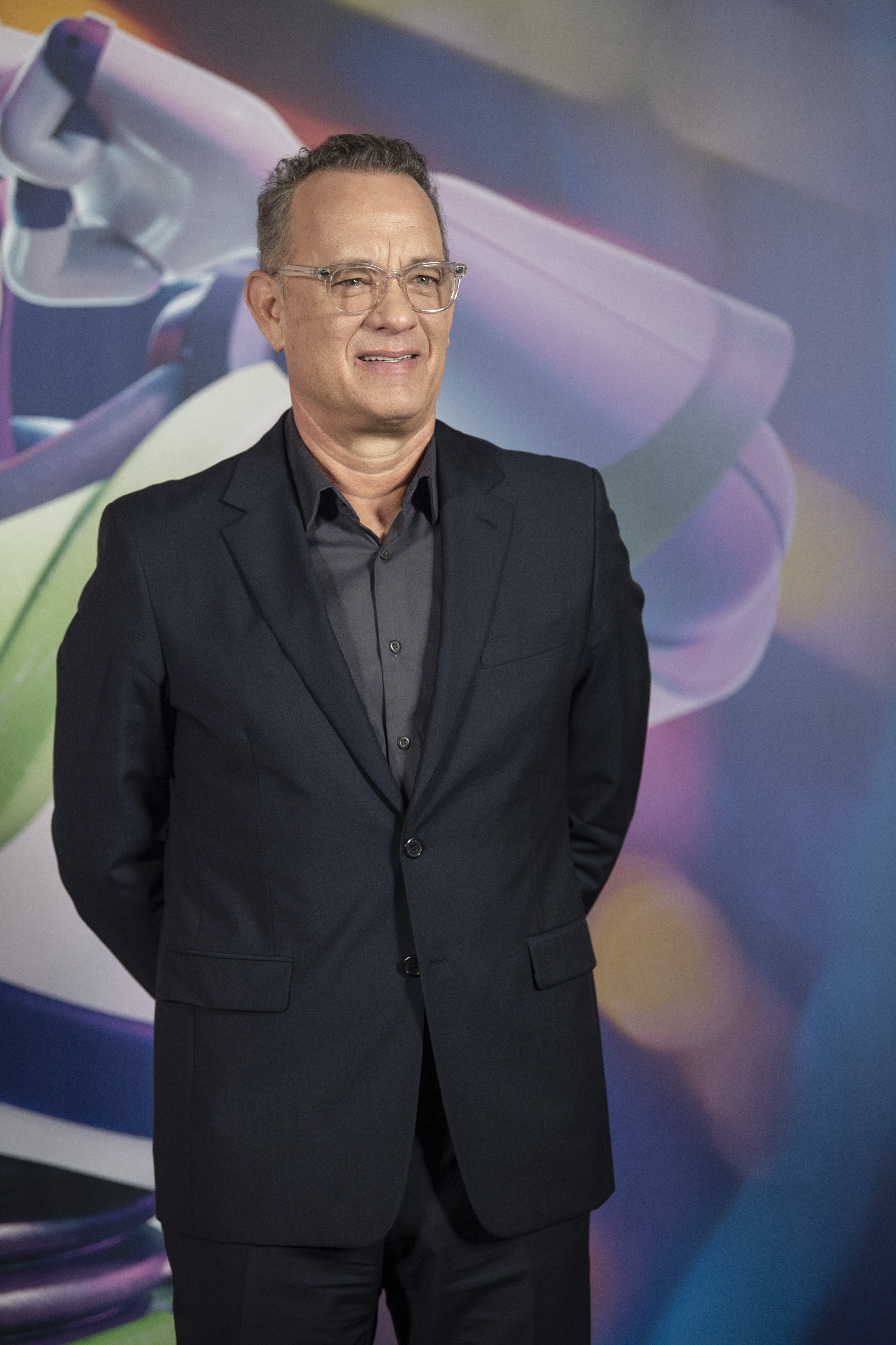 Tom Hanks attends the 'Toy Story 4' photocall on June 19, 2019, in Barcelona, Spain. | Source: Getty Images.