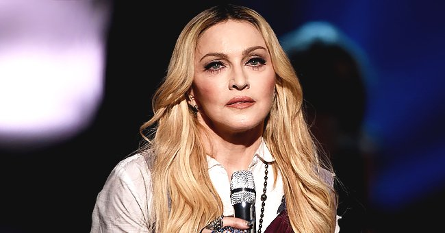 Madonna & Her 4 Youngest Children Visit the Jacaranda School for Orphans in Malawi — See Photos