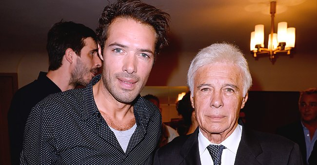 Guy Bedos et son fils Nicolas Bedos | Photo : Getty Images.