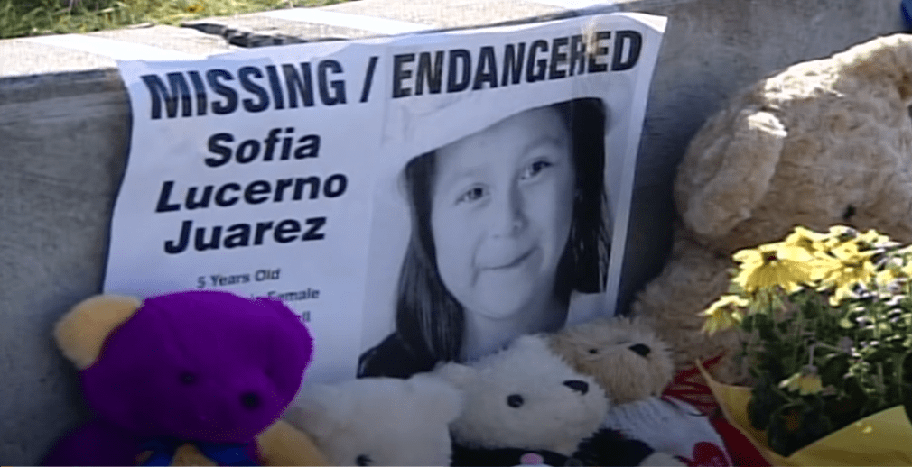Sofia Juarez, a Kennewick girl who police believe was abducted near her home in 2003.    Photo: YouTube/King 5