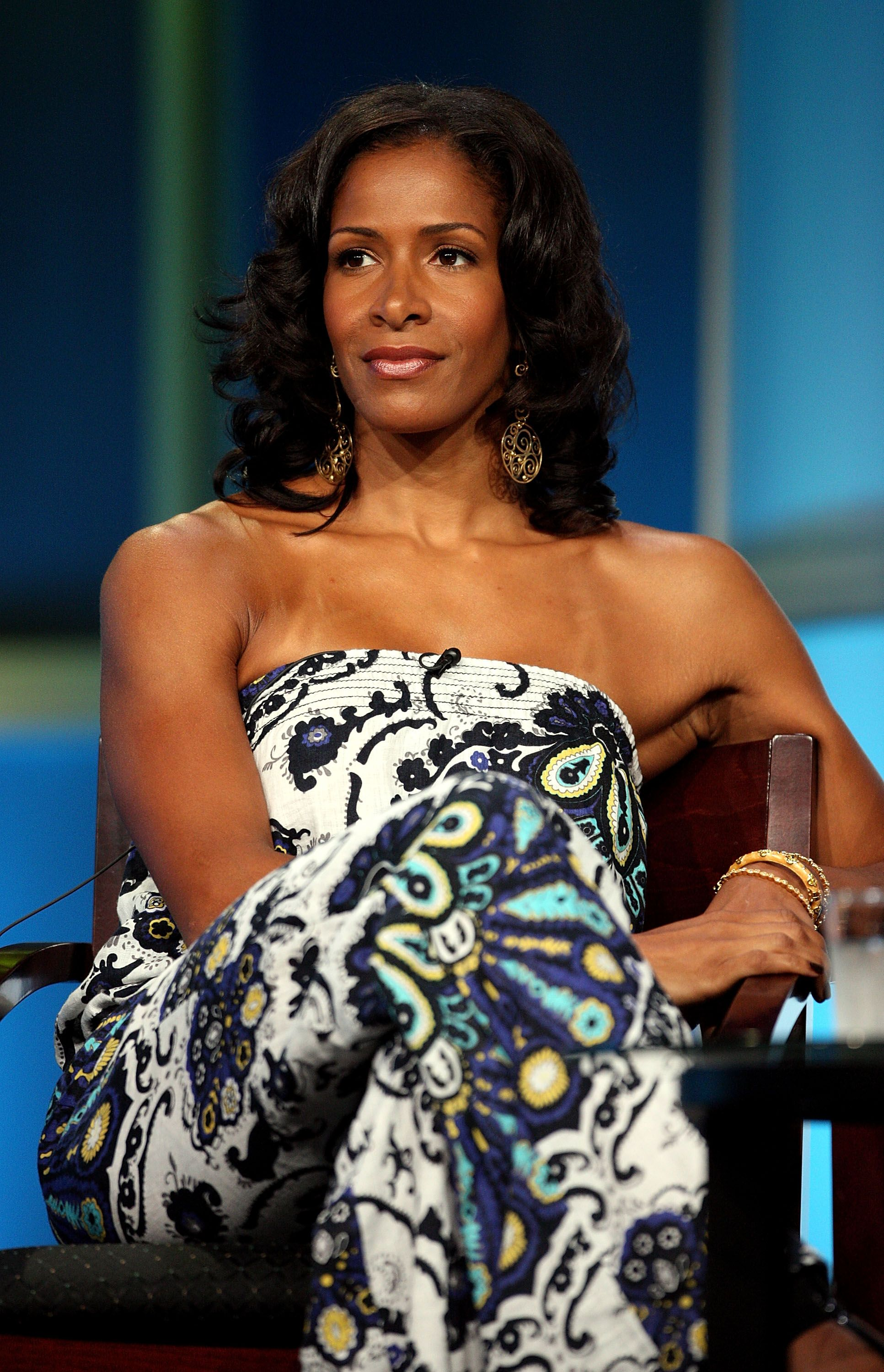 Sheree Whitfield at the 2008 Summer Television Critics Association Press Tour in Beverly Hills, California | Source: Getty Images