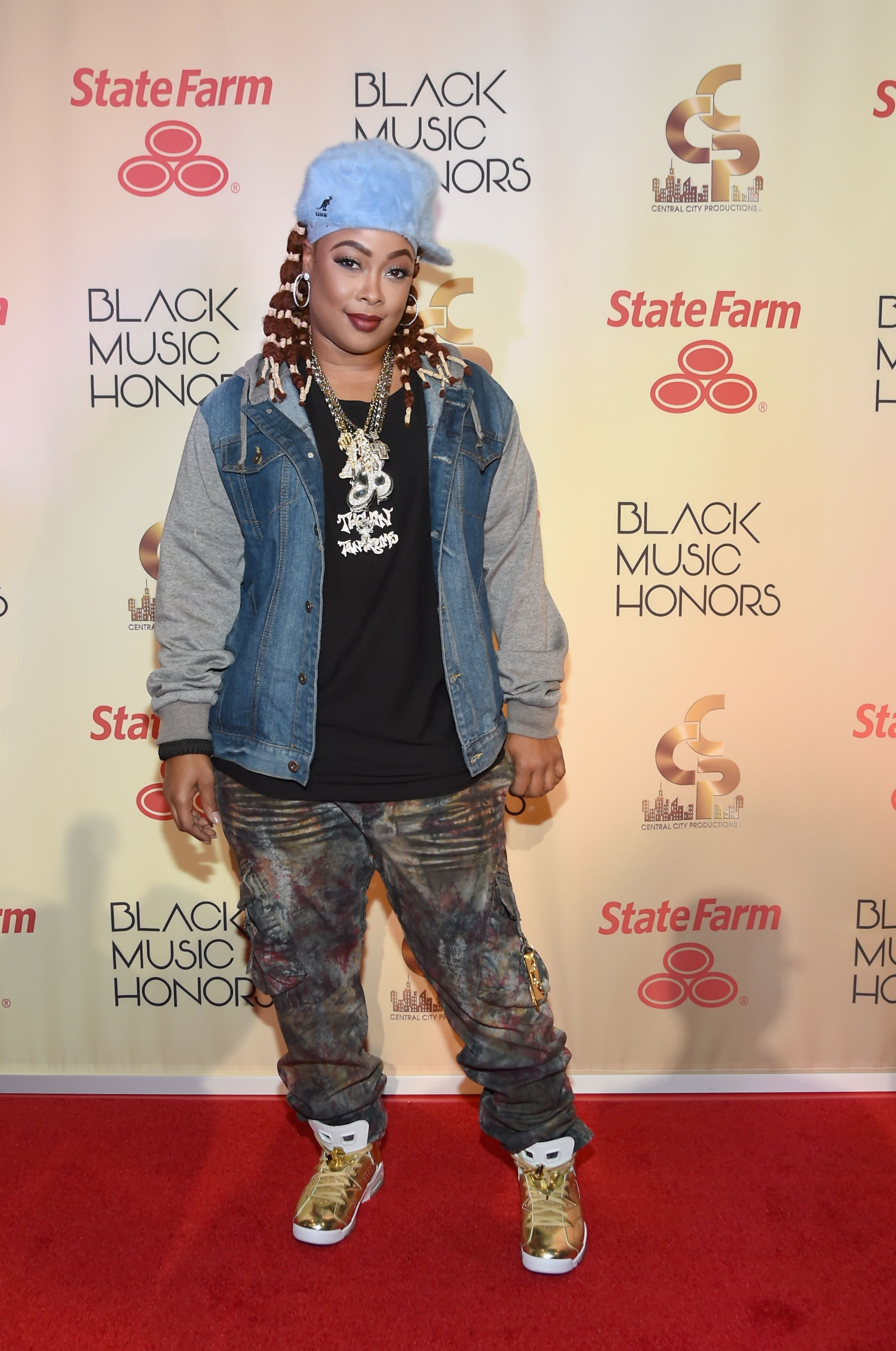 Da Brat arrives at the 2017 Black Music Honors at Tennessee Performing Arts Center on August 18, 2017 in Nashville, Tennessee. | Source: Getty Images