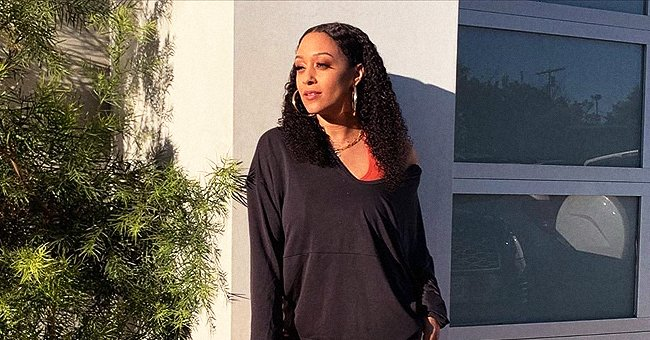 Tia Mowry Shares Photo of Daughter Cairo out for Walk but Still Keeping Her Social Distance Amid COVID-19