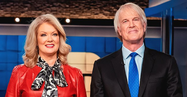 John Tesh & Mary Hart, Former ET Co-Anchors, Reunite for the First Time in Over Two Decades on the Show and Discuss Tesh's Cancer Battle