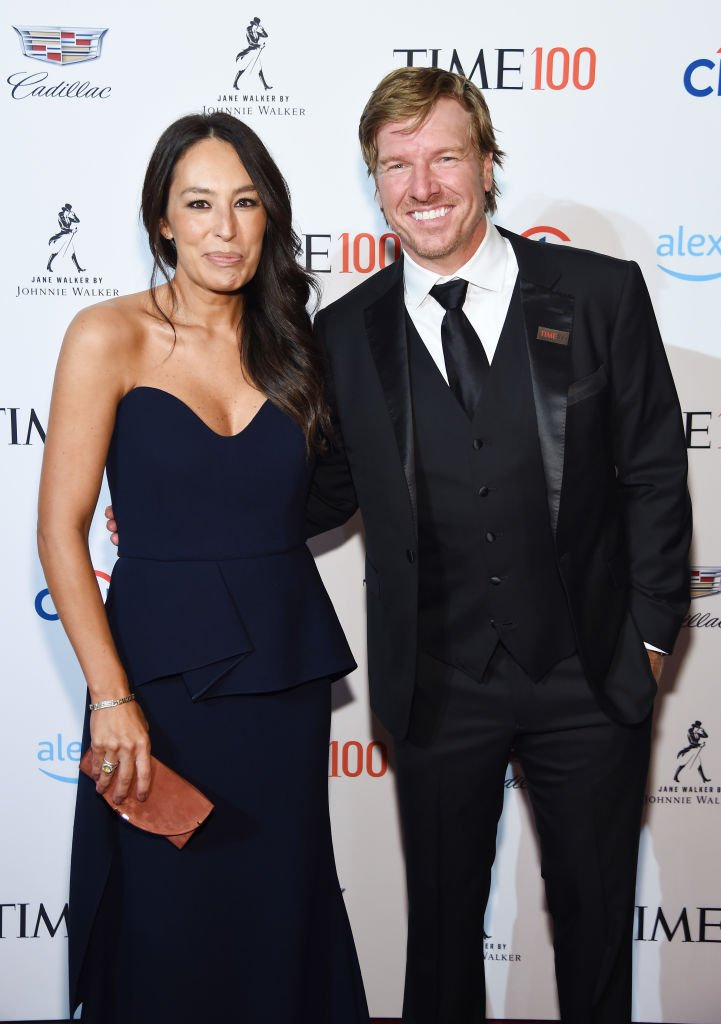 Joanna Gaines and Chip Gaines attend the TIME 100 Gala 2019 Cocktails at Jazz at Lincoln Center | Photo: Getty Images