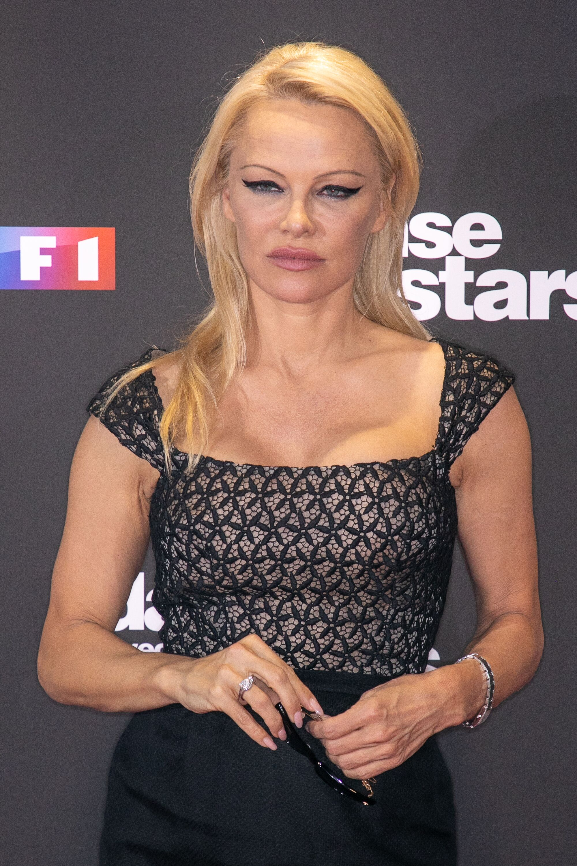 Pamela Anderson attends the 'Danse Avec Les Stars' photocall. | Source: Getty Images
