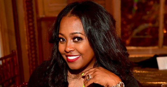 Keshia Knight Pulliam from 'The Cosby Show' Poses in Checkered Pants & Leather Jacket (Photos)