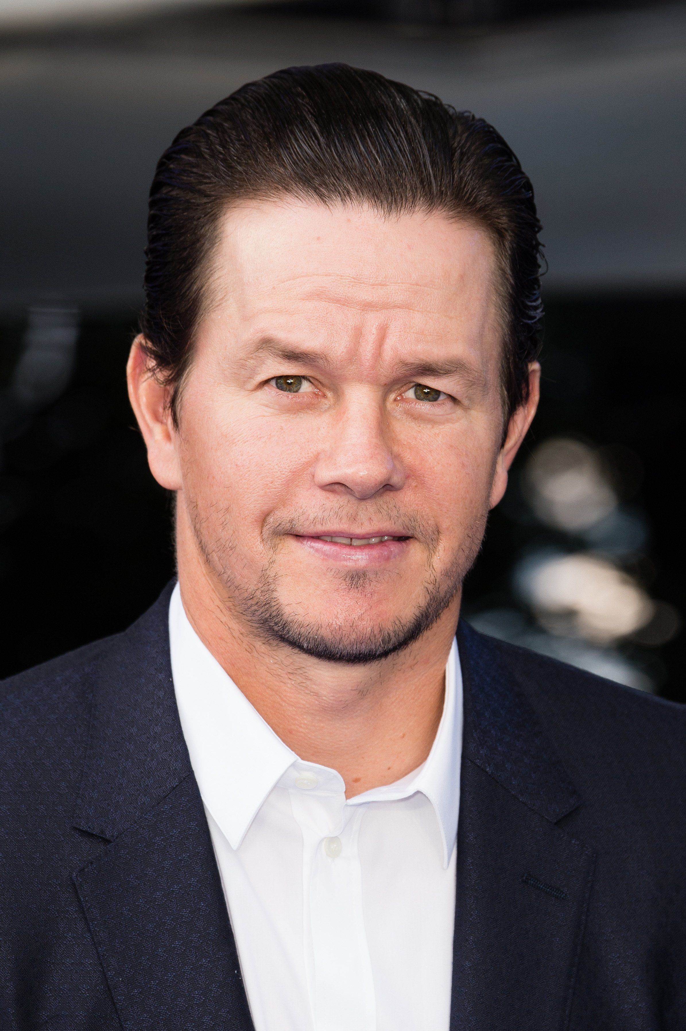 """Mark Wahlberg attends the premiere of """"Transformers: The Last Knight"""" in London, England on June 18, 2017 
