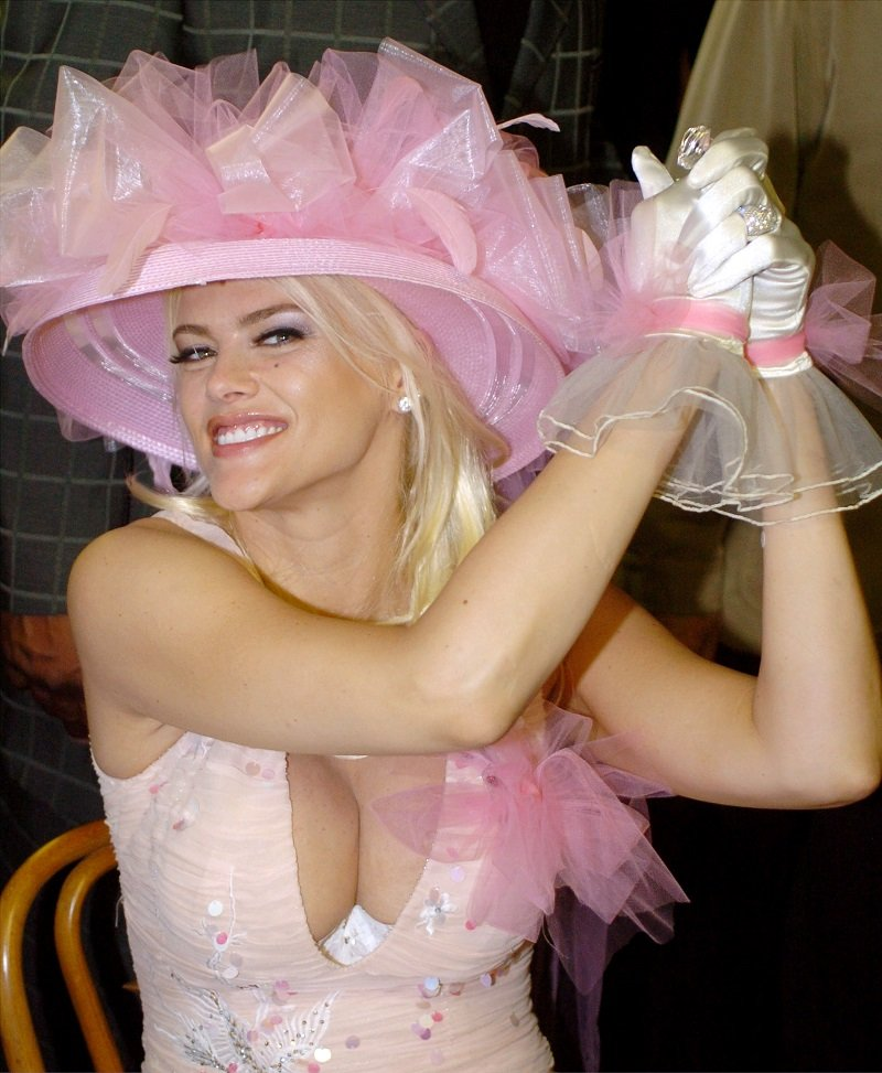 Anna Nicole Smith on May 1, 2004 in Louisville, Kentucky   Photo: Getty Images