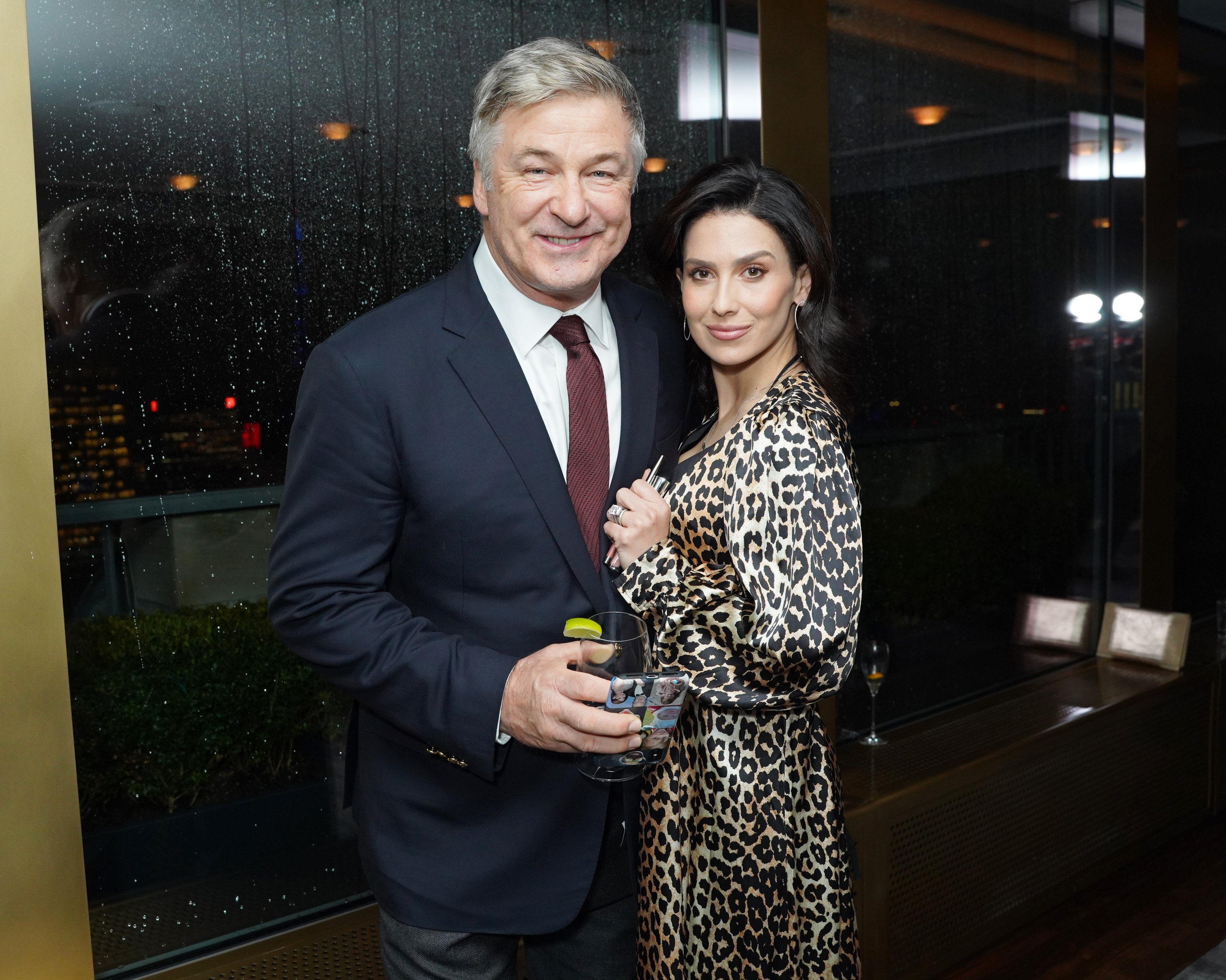 Alec and Hilaria Baldwin pictured at Guild Hall Academy Of The Arts Achievement Awards 2020 at the Rainbow Room, 2020 in New York City. | Photo: Getty Images