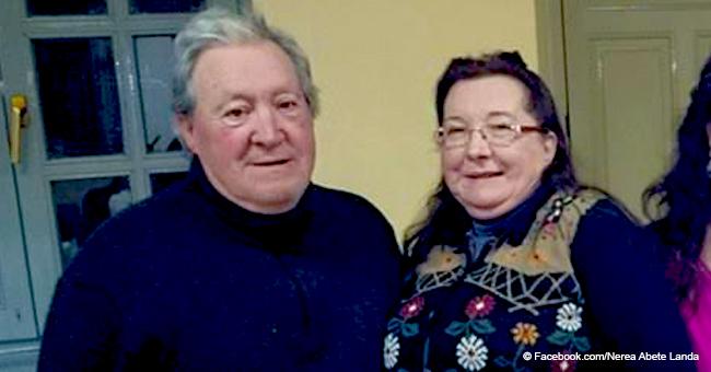 Ein älteres Paar heiratet in einem Krankenhaus vor einer lebensgefährlichen Operation