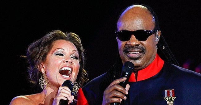 Vanessa Williams Celebrates Stevie Wonder's 70th Birthday with a Sweet Photo