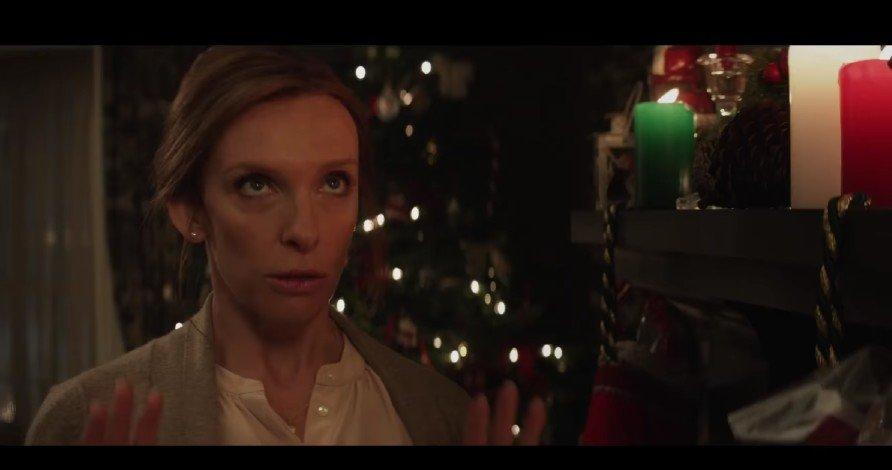 """Toni Collette in a scene for the 2015 comedy/ horror film """"Krampus."""" 