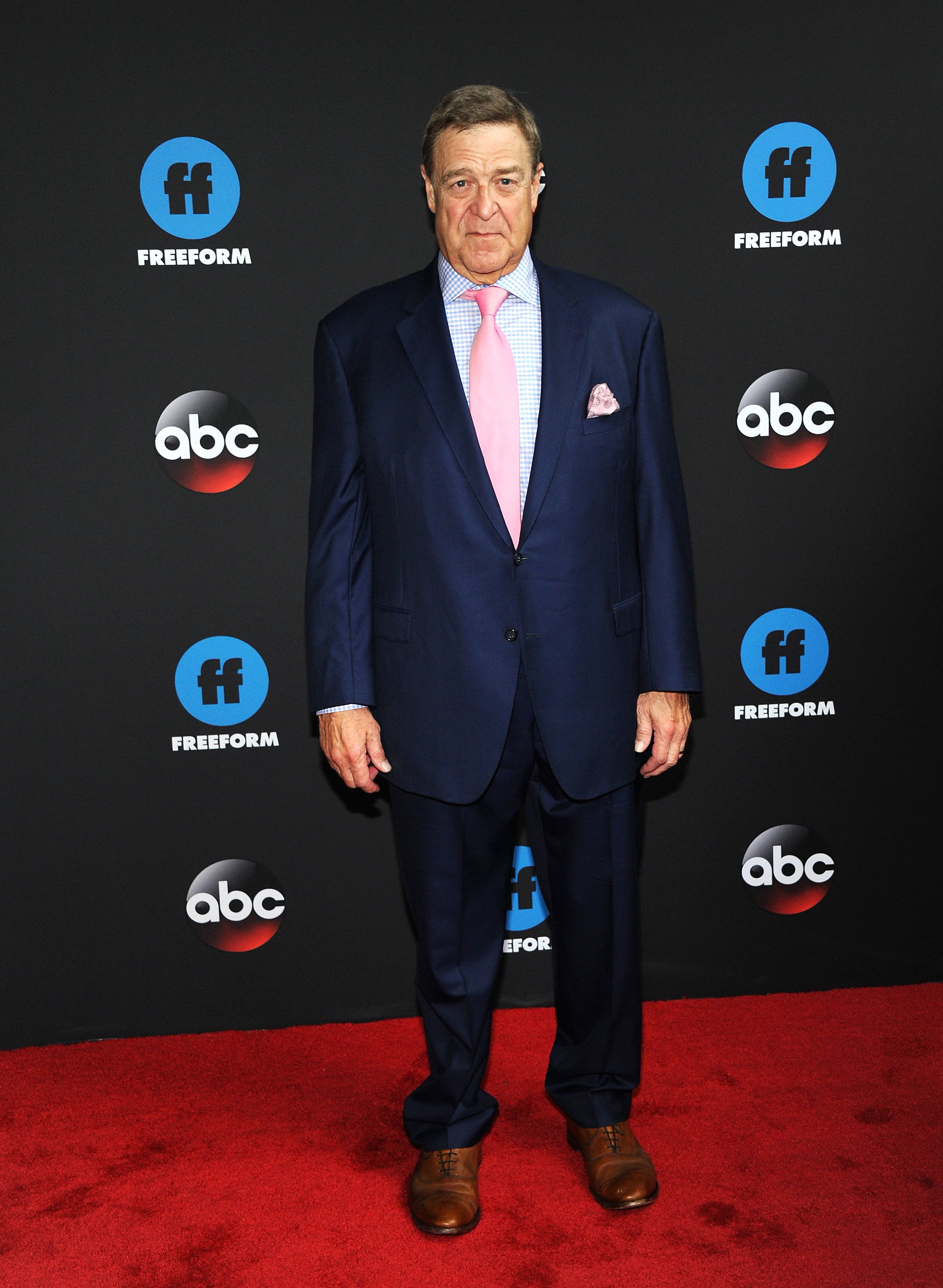 John Goodman nimmt am 15. Mai 2018 an der Disney, ABC, Freeform Upfront 2018 in New York City teil. | Quelle: Getty images