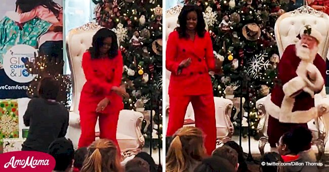 Michelle Obama stuns children with her hilarious dancing in another surprise visit