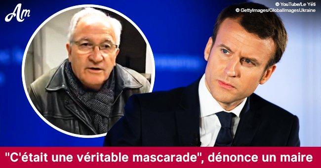 """Le maire français d'Angy accuse Emmanuel Macron de """"faire campagne aux frais de l'État"""" (Video)"""