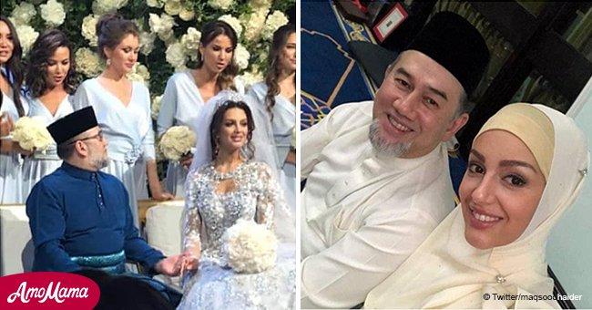Comment une ancienne Miss Moscou âgée de 25 ans, convertie à l'Islam a fait pour devenir Reine de Malaisie