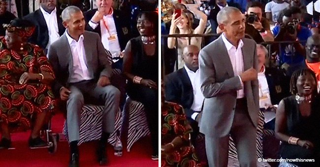 Remembering Barack Obama's dance with his 96-year-old step-grandmother in Kenya