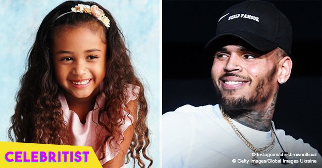 Chris Brown is on daddy duty, spending quality time with daughter Royalty in cute pic