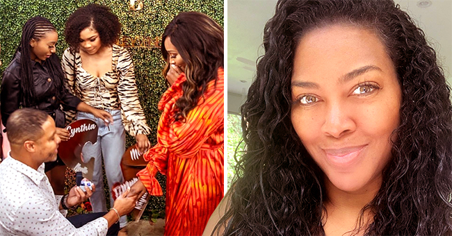 Kenya Moore Has a Sweet Message for Cynthia Bailey after Her Engagement