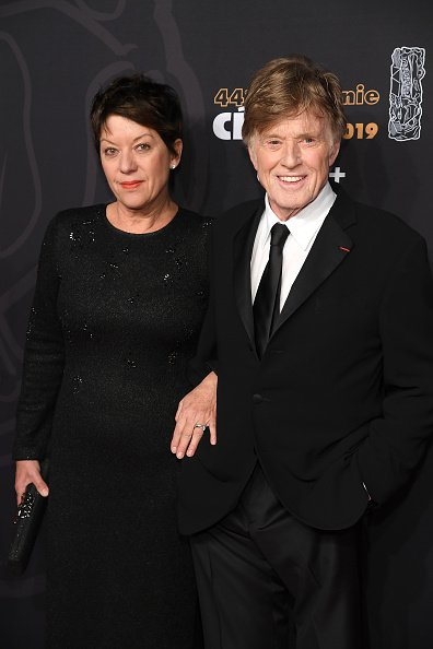 Robert Redford and Sibylle Szaggars at Salle Pleyel on February 22, 2019 in Paris, France. | Photo: Getty Images