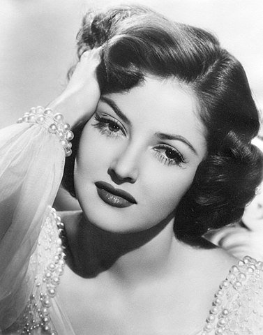 Martha Vickers en 1947. | Source: Wikimedia Commons.