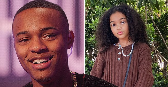 Bow Wow's Daughter Shai Strikes a Pose in a Chocolate Brown Outfit & Louis Vuitton Bag in New Photos