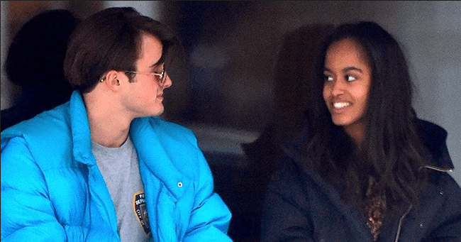 Daily Mail: Malia Obama Spent the Holidays in London with Her British Boyfriend Rory Farquharson